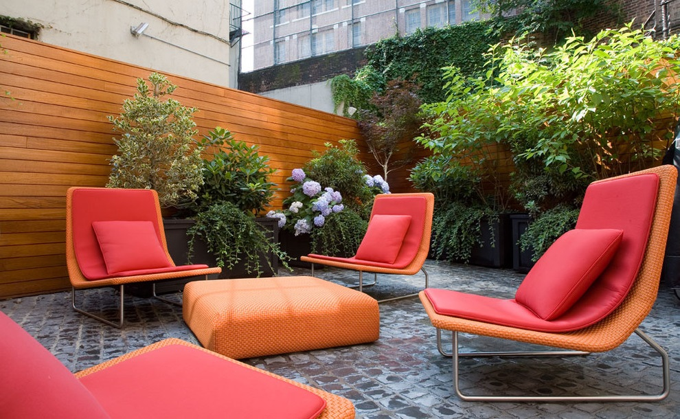 Cozy And Stylish Patio Furniture (View 14 of 20)