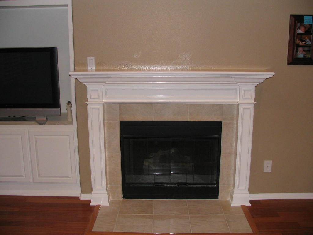 Cramics Fireplace Mantel Kits Ideas (Image 2 of 10)