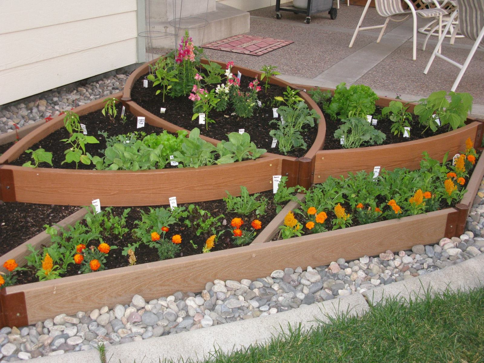 Creative Design For Raised Garden Bed Ideas