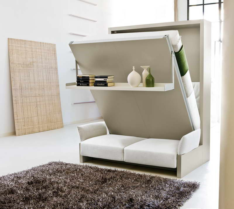 Creative Ideas Transformable Murphy Bed Ideas (View 2 of 10)