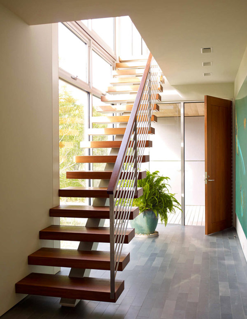 Creative Stair Layout Decorations (View 4 of 10)