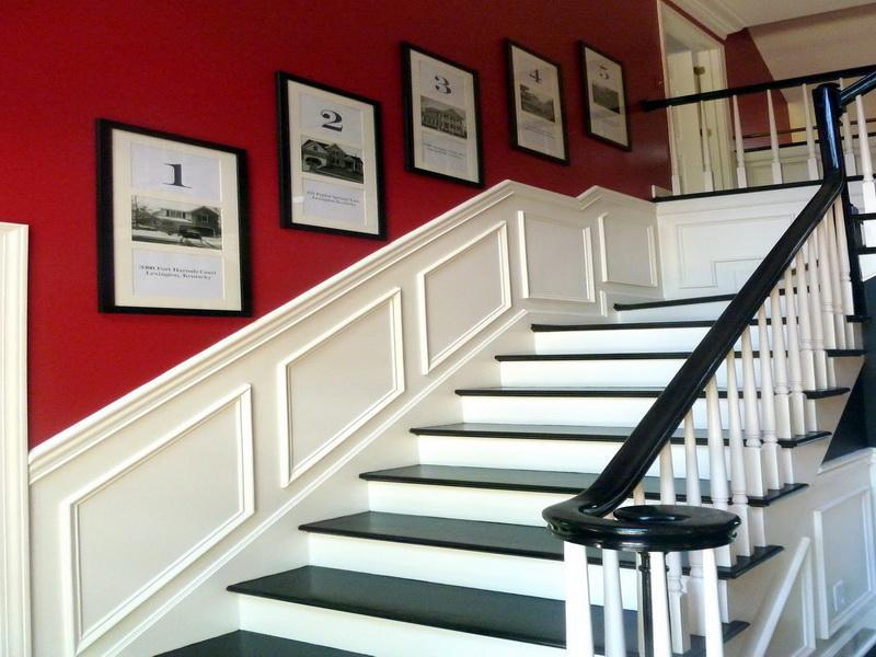 Creative Ways To Hang Pictures On Stair Wall (Image 6 of 10)