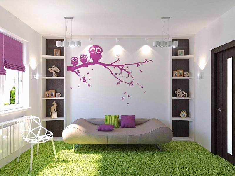 Cute Owl Cheap Bedroom Ideas Turn to Colors