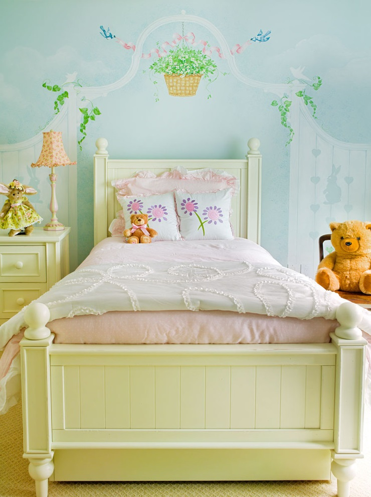 Cute And Funny Girl Bedroom Decor (View 4 of 5)