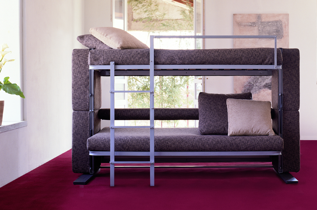 DOC Purple Unique Bunk Bed