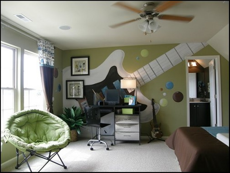 Decorating Music Ideas For Bedrooms (View 1 of 10)