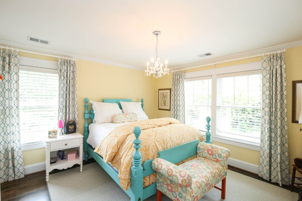 Decorative Girl Bedroom Interior