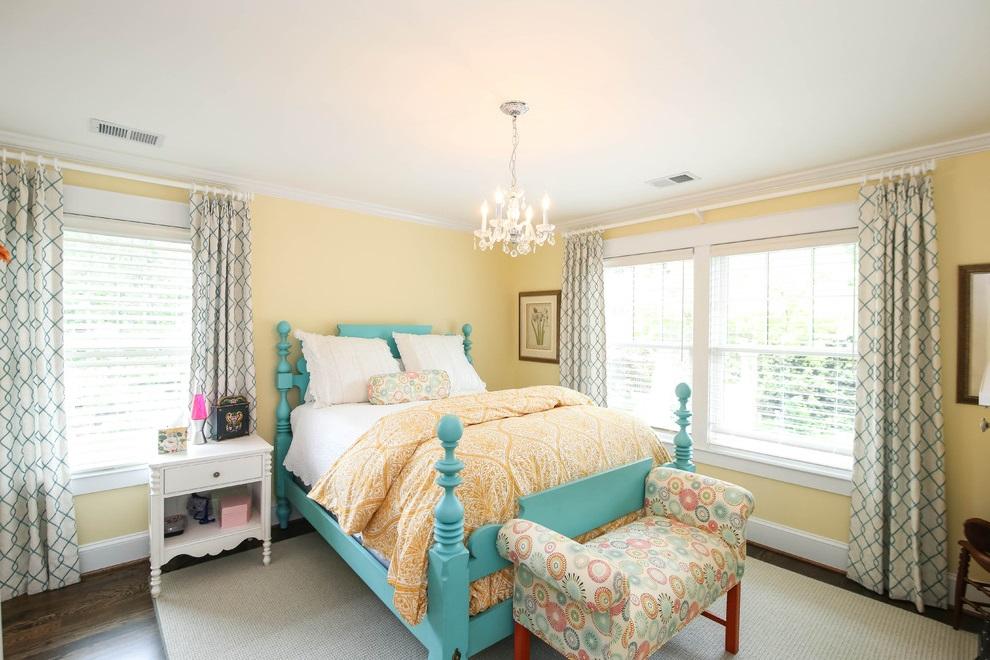 Decorative Girl Bedroom Interior