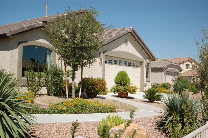 Desert Landscape Concepts Front Yard (View 8 of 10)
