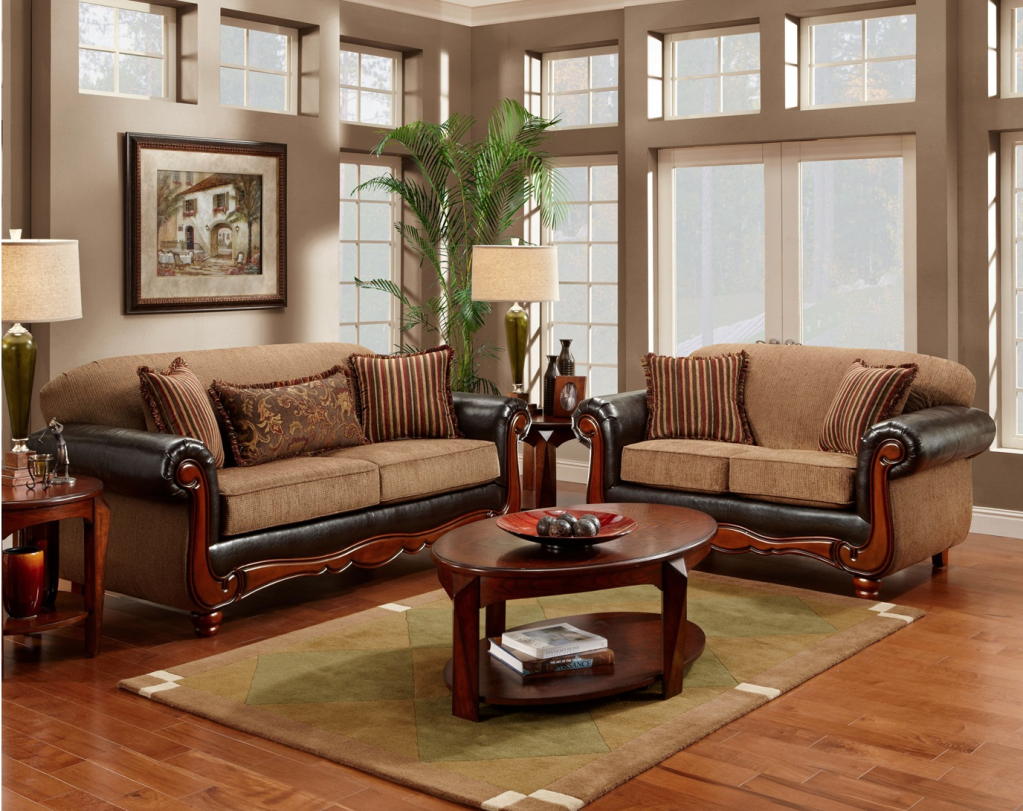 Elegant And Classic Sofas Furniture For Living Room (View 5 of 10)