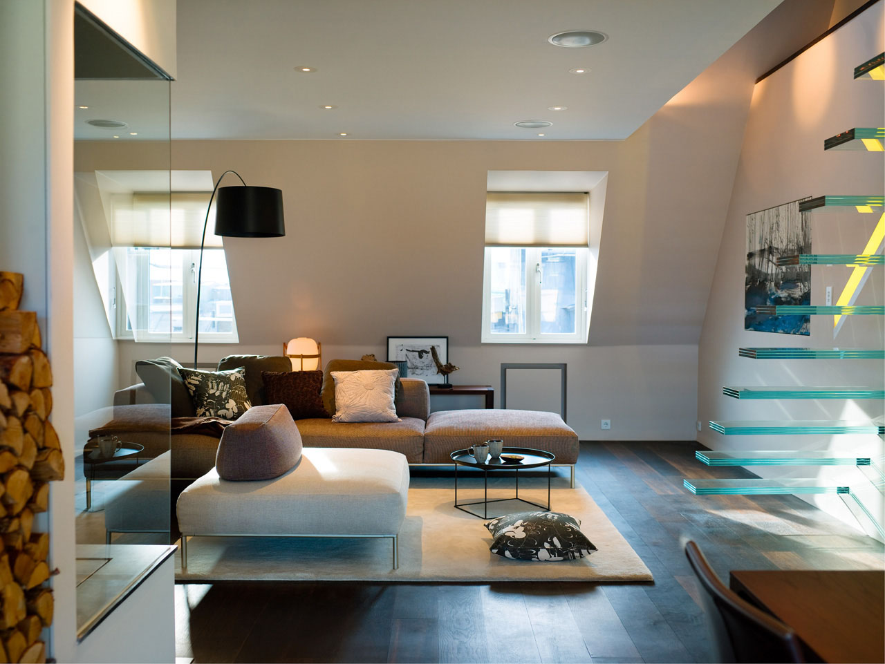Elegant And Modern Minimalist Penthouse Design Another Side (View 5 of 10)
