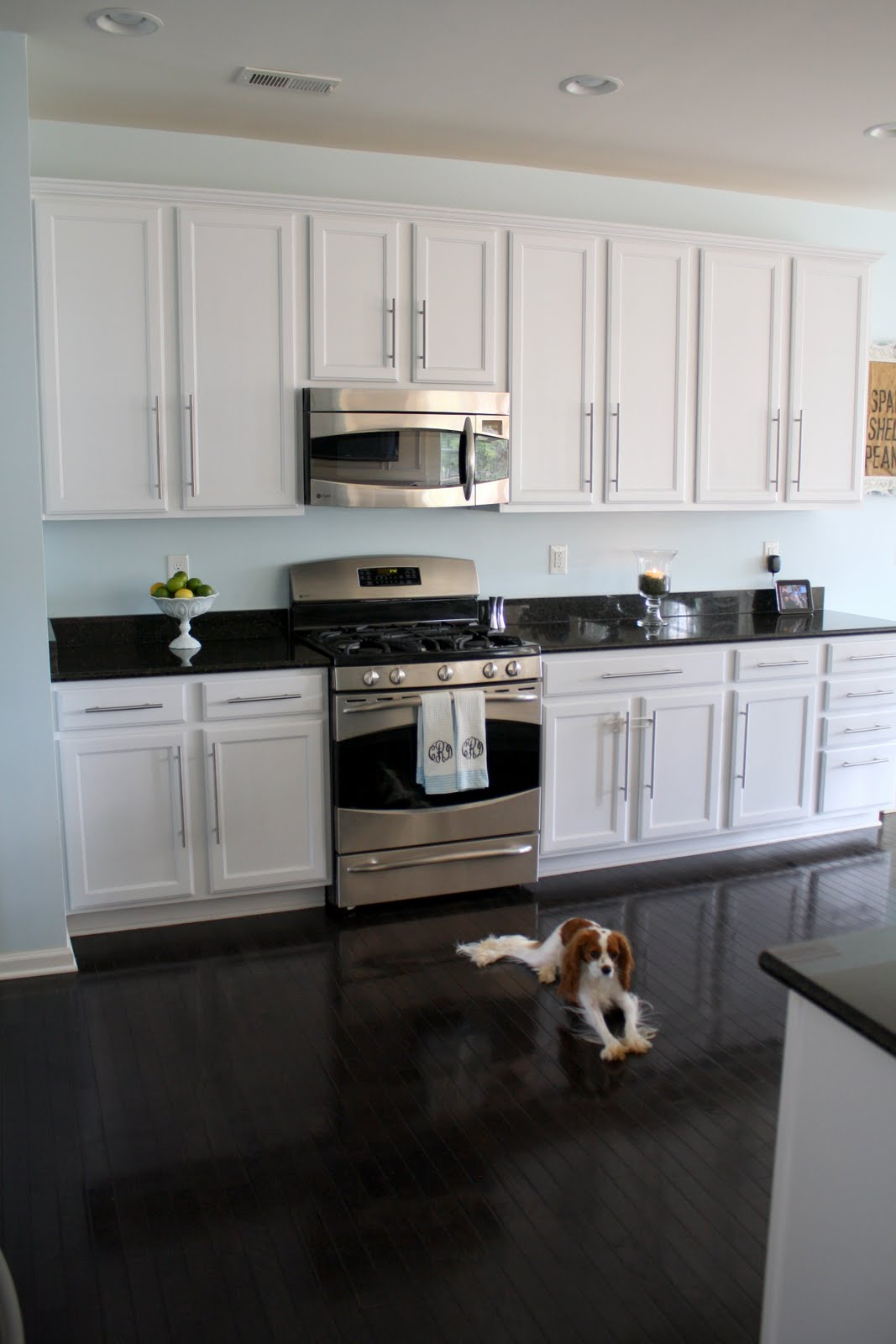Elegant Black And White Painting Kitchen Countertops Ideas (View 4 of 10)