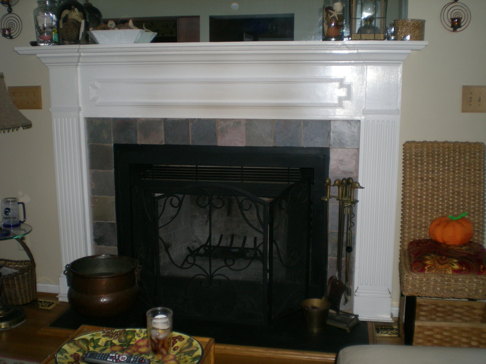 Elegant Fireplace Mantel Kits Ideas (Image 4 of 10)