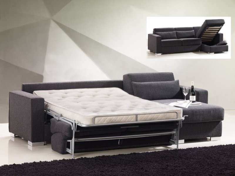 Elegant Leather Sleeper Sofas