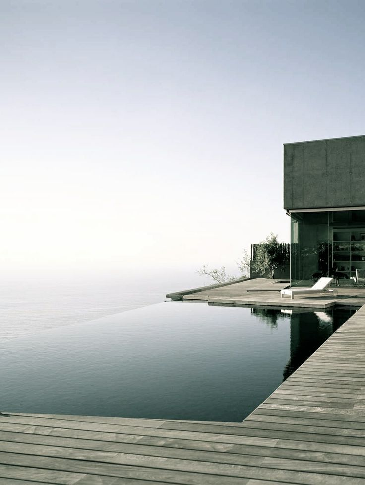 Elegant Minimalist Infinity Pool Design No Edges No Boundaries