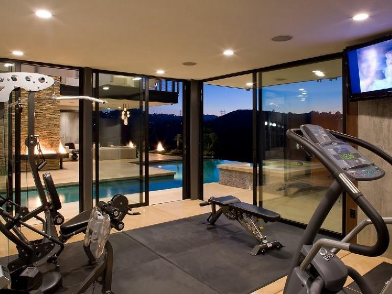 Elegant Place Designing Gym Room In Home (Image 2 of 10)