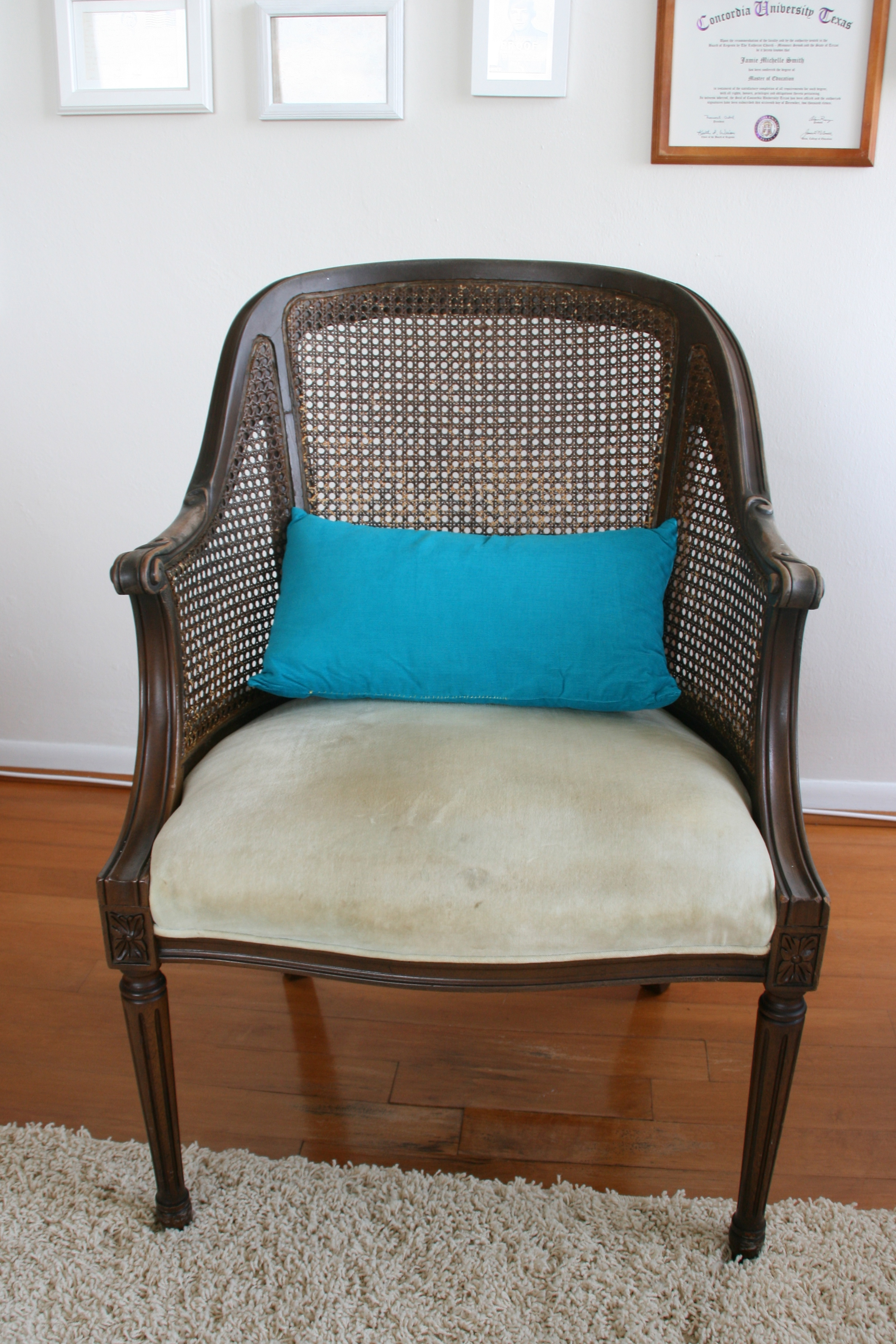Elegant Reupholstering A Chair (Image 3 of 10)