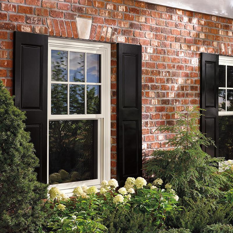 Elegant Single Hung Window Exteriors