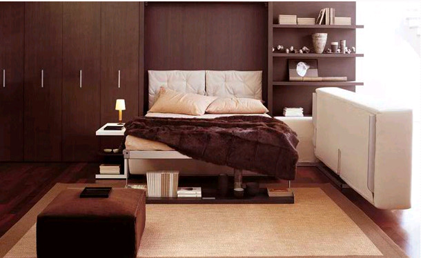 Elegant Transformable Murphy Bed Ideas (Image 3 of 10)