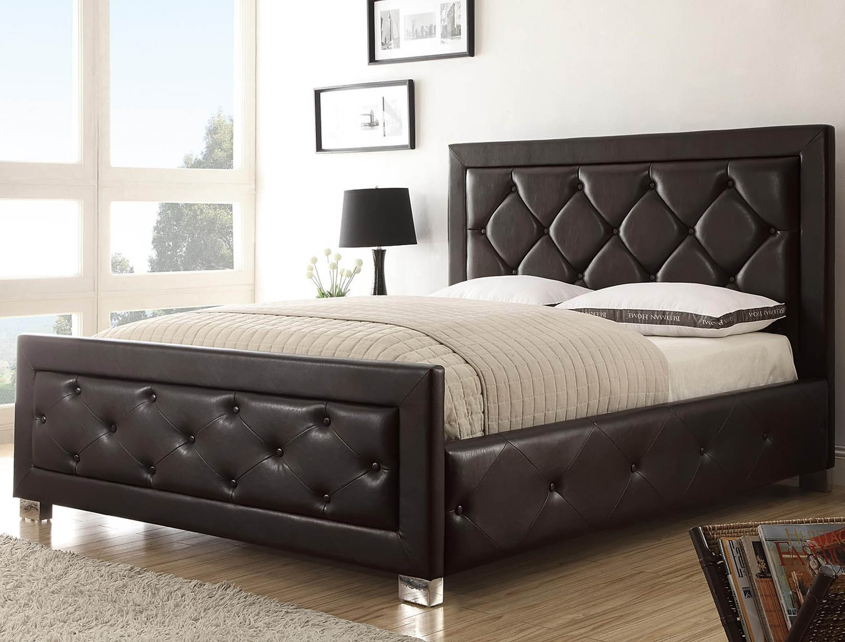 Elegant Upholstered Headboards (Image 6 of 10)