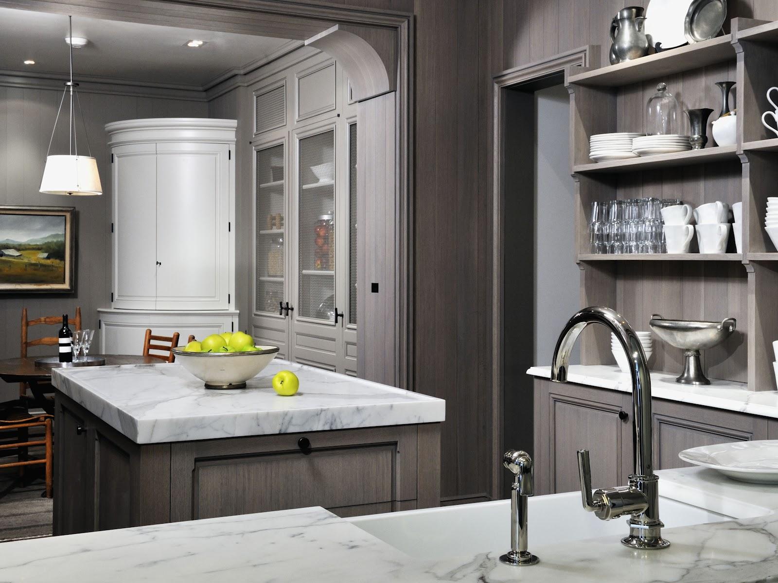 Elegant Vintage Grey Painting Kitchen Countertops Ideas (View 6 of 10)