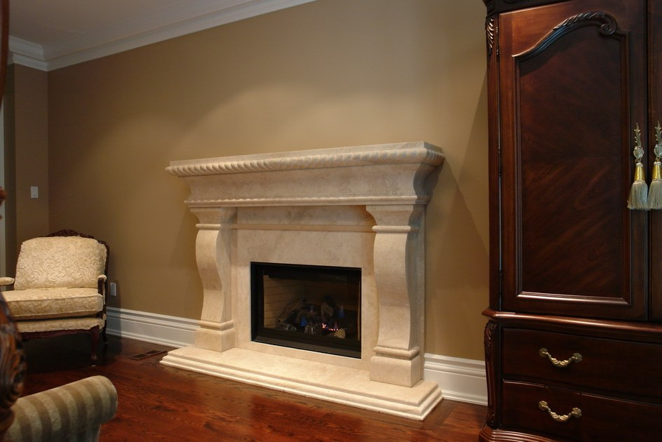 Elegant White Fireplace Mantel Kits Ideas (View 6 of 10)