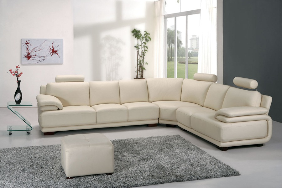 Elegant And Comfortable Corner Sofa (Image 7 of 10)