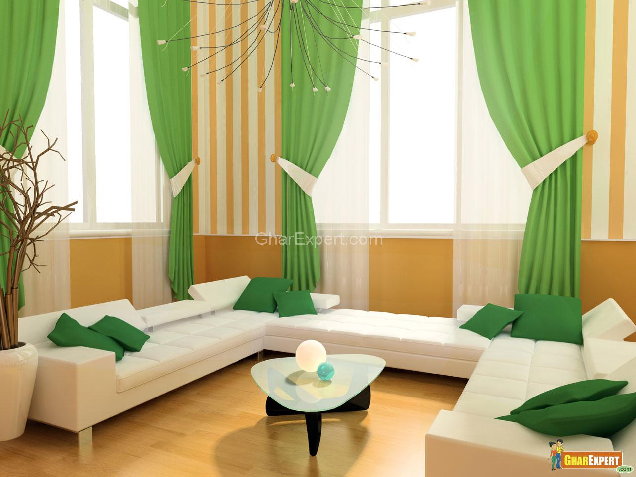 Beautiful curtain ideas for living room custom home design for Modern curtains for living room 2014