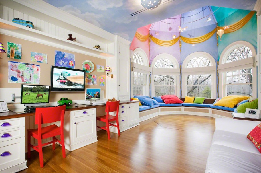 Expensive And Inspiring Kids Playroom Designs
