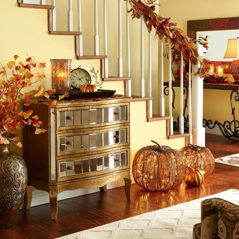 Fall home decorating ideas nice home theme custom home for Nice home decor