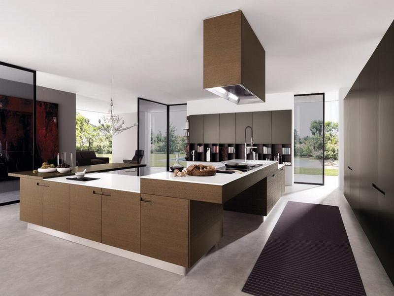 Fancy Idea For Elegance Large Kitchen