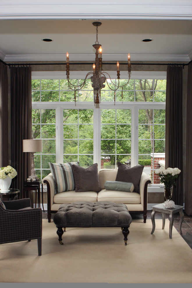 Formal Living Room In Gothic Style (Image 6 of 14)