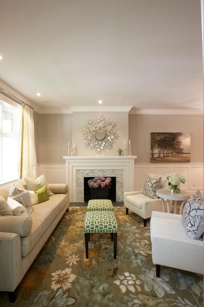 Formal Living Room with Carpet Flooring