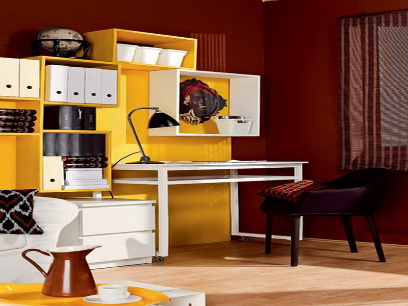 Fresh Home Office Decorating Ideas For Men (Image 2 of 10)