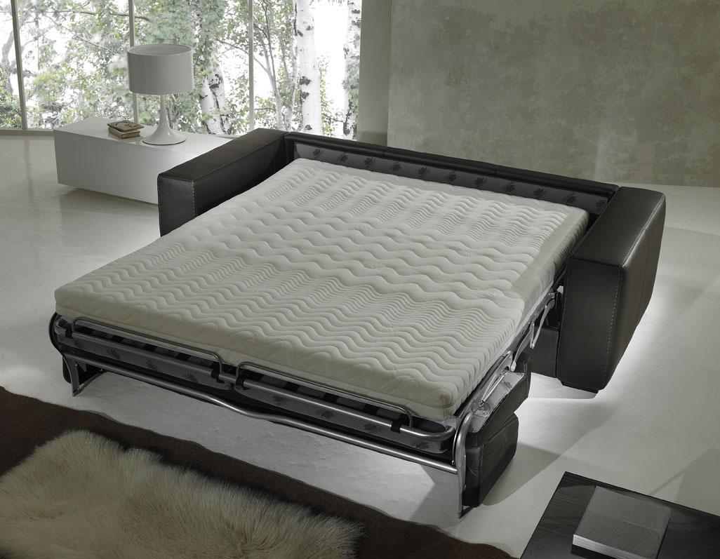 Gamma Capri Leather Sleeper Sofas (View 6 of 10)