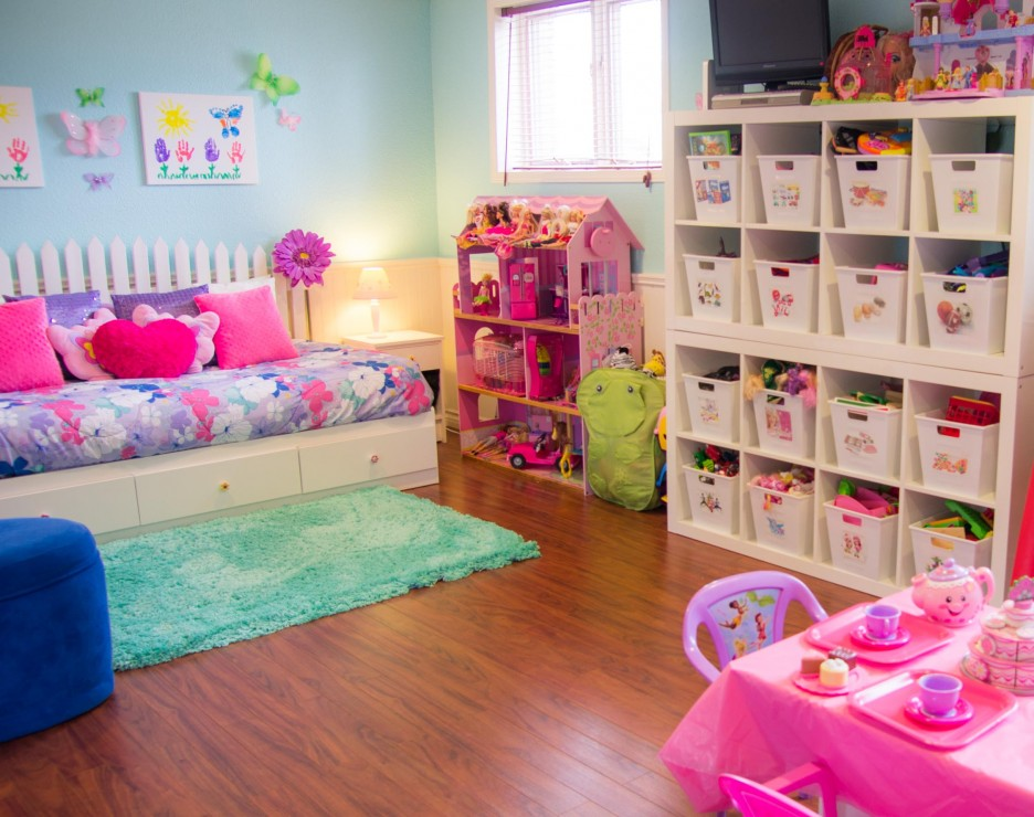 Girl Kids Playroom Designs (Image 2 of 10)