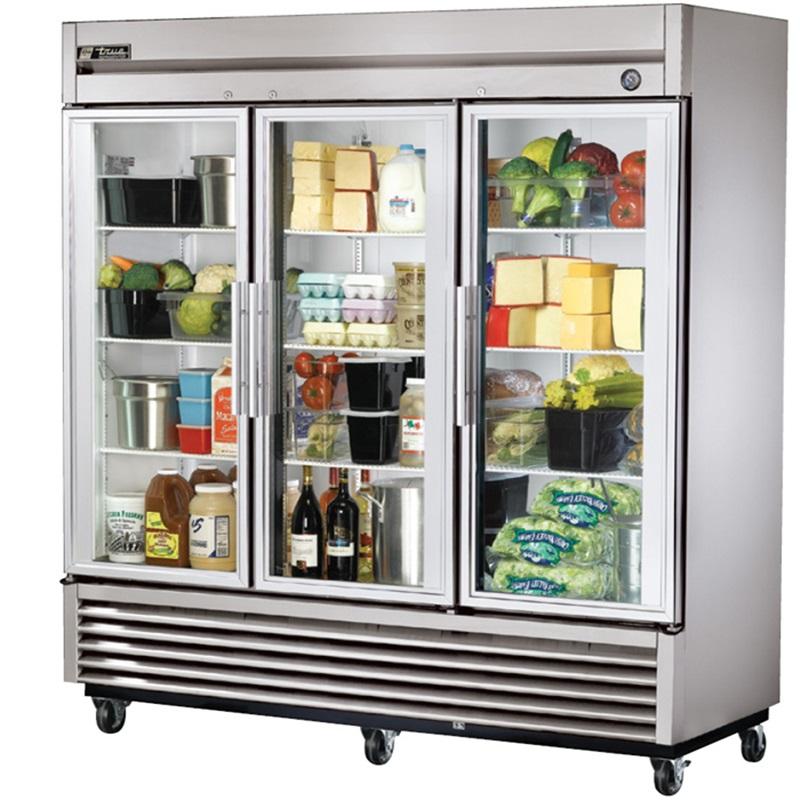 Glass Door Refrigerator (Image 7 of 10)