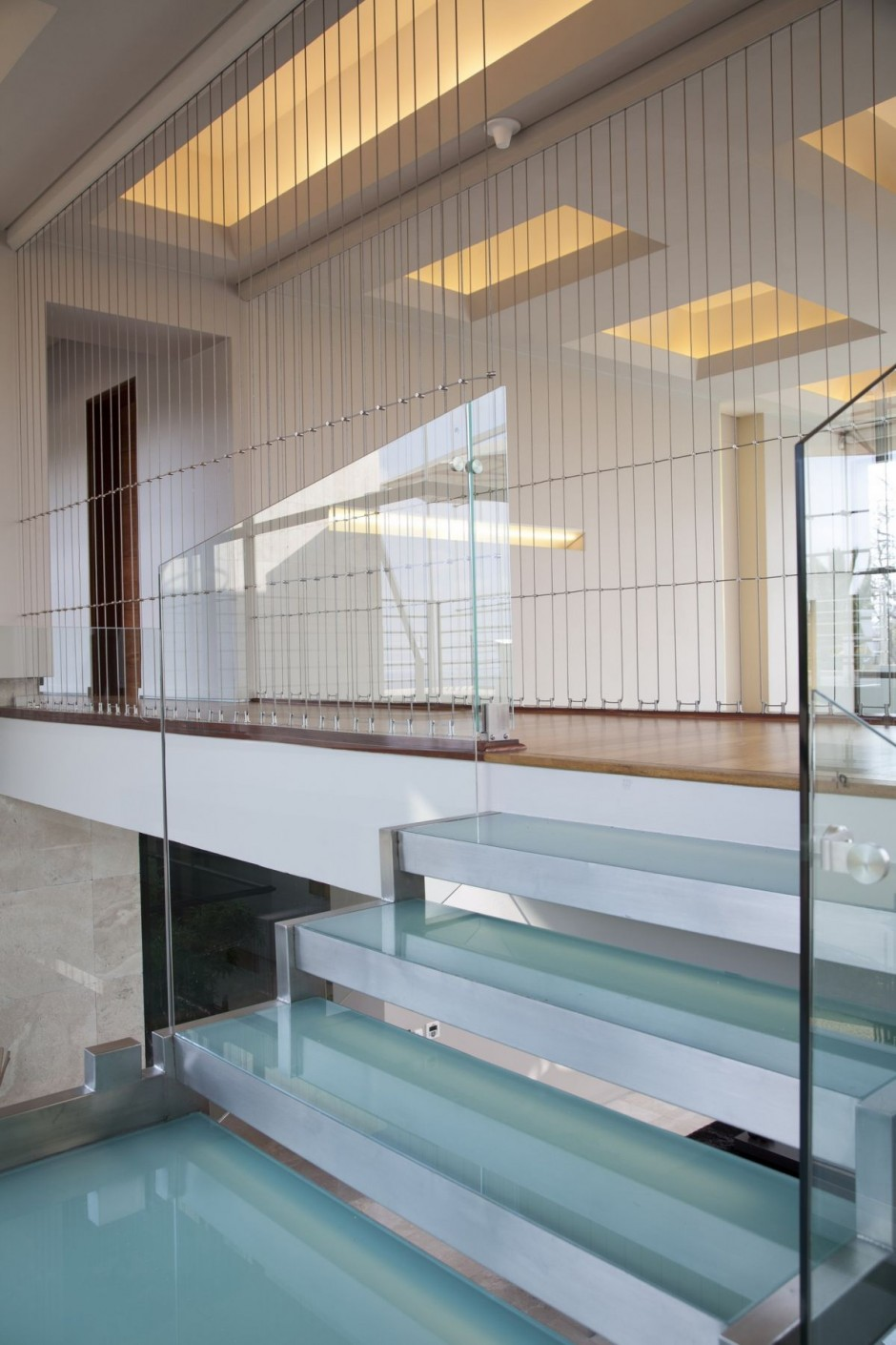 Glass Mobile Home Stairs