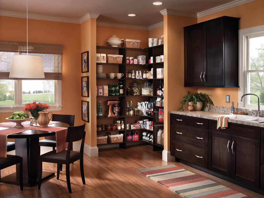Good Ideas Functional And Practical Kitchen Pantry (Image 2 of 10)