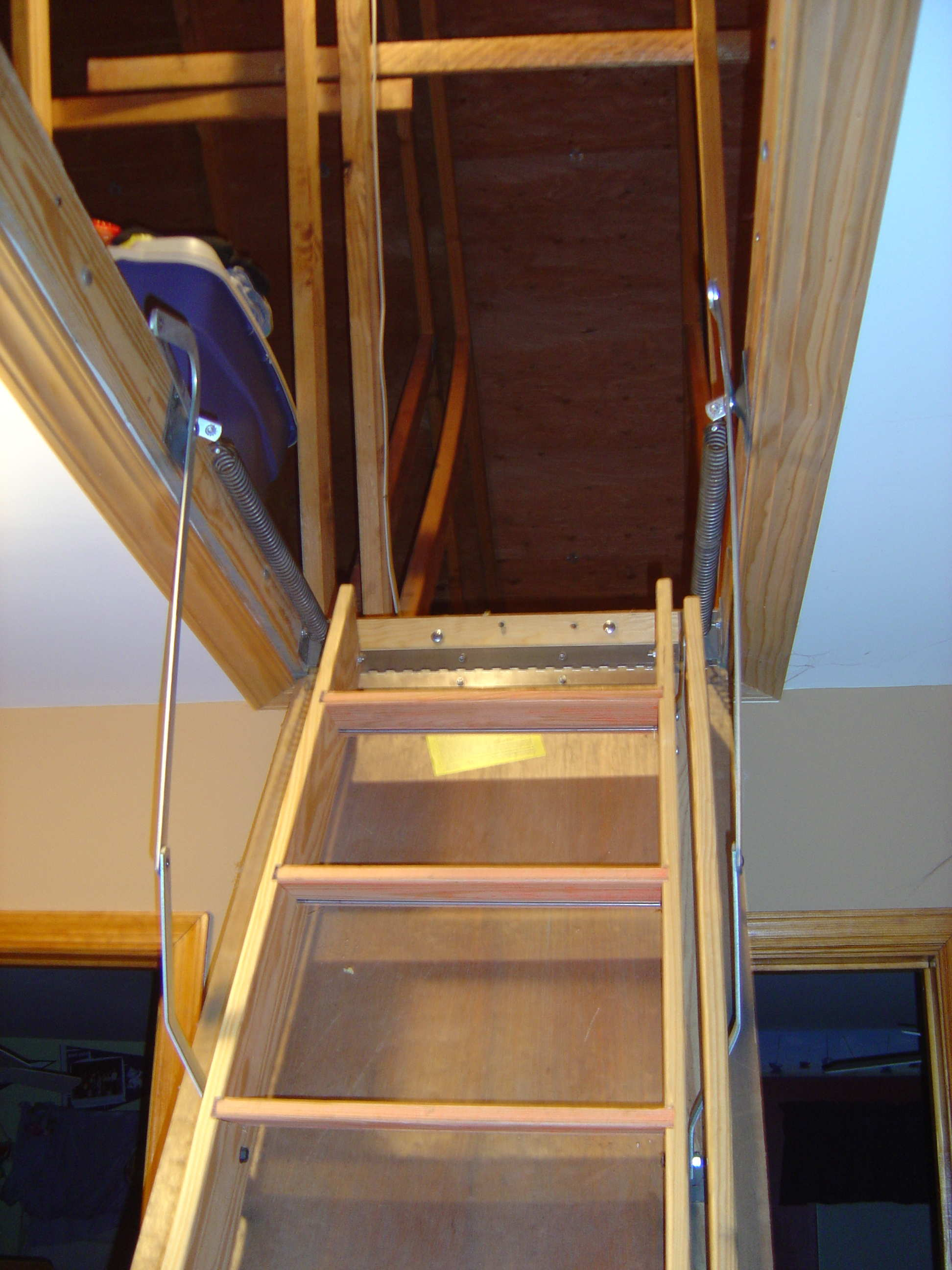 Good Installation Of Pull Down Stairs (Image 3 of 10)