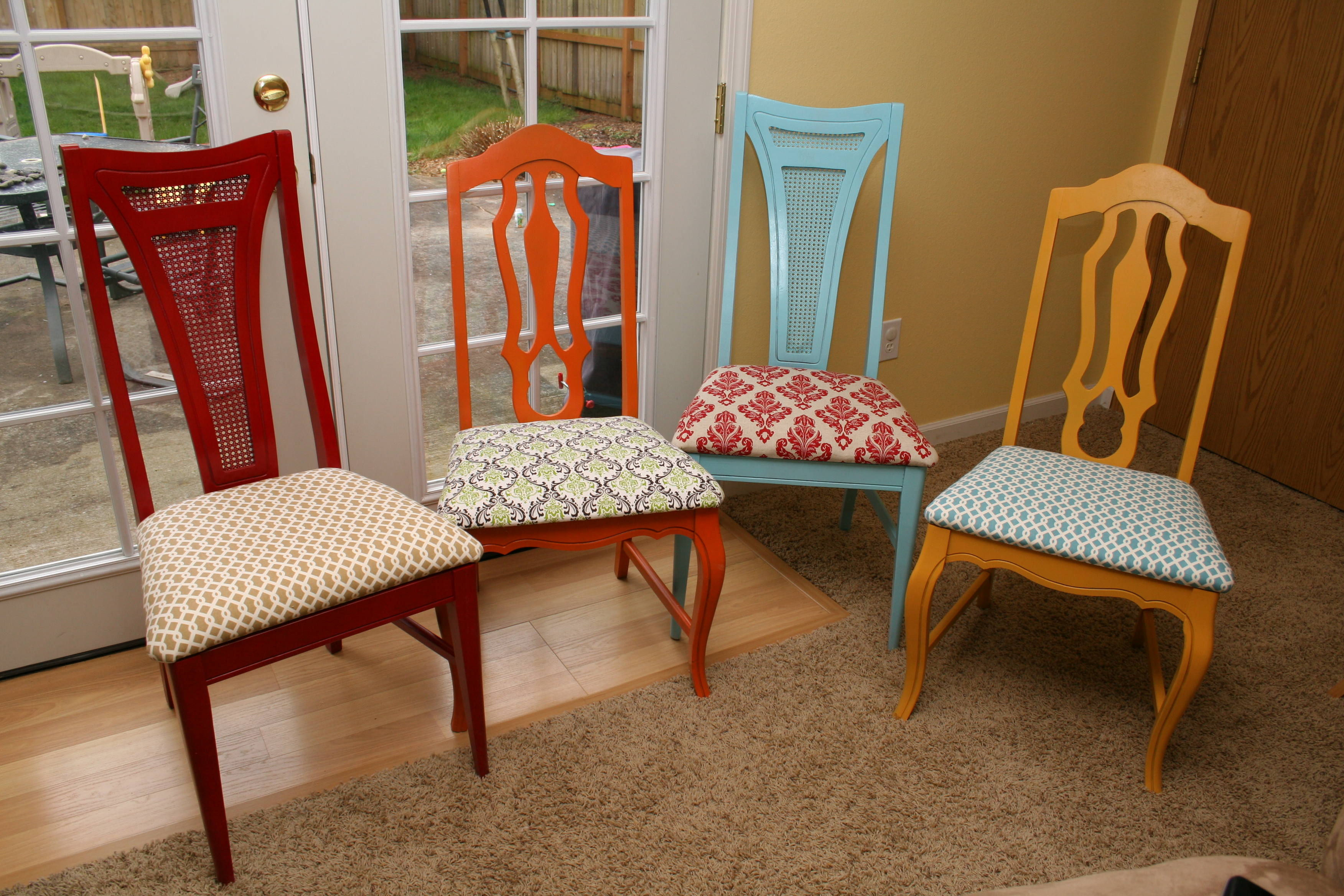 Good Reupholstering A Chair Designs (Image 4 of 10)