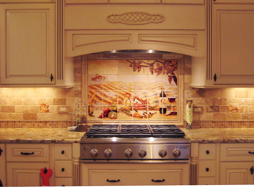 Great Tiles on Mosaic Ideas for Kitchen
