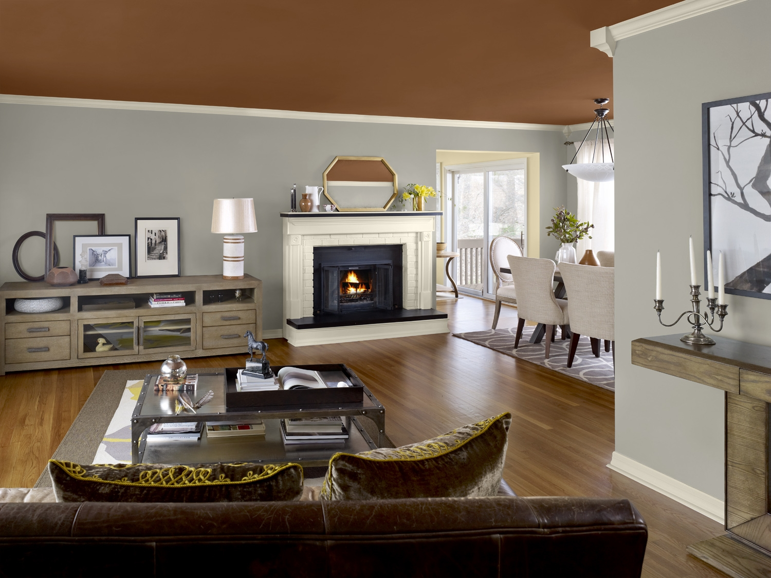 Grey Calming Paint Colors For Neutral Room (View 5 of 10)