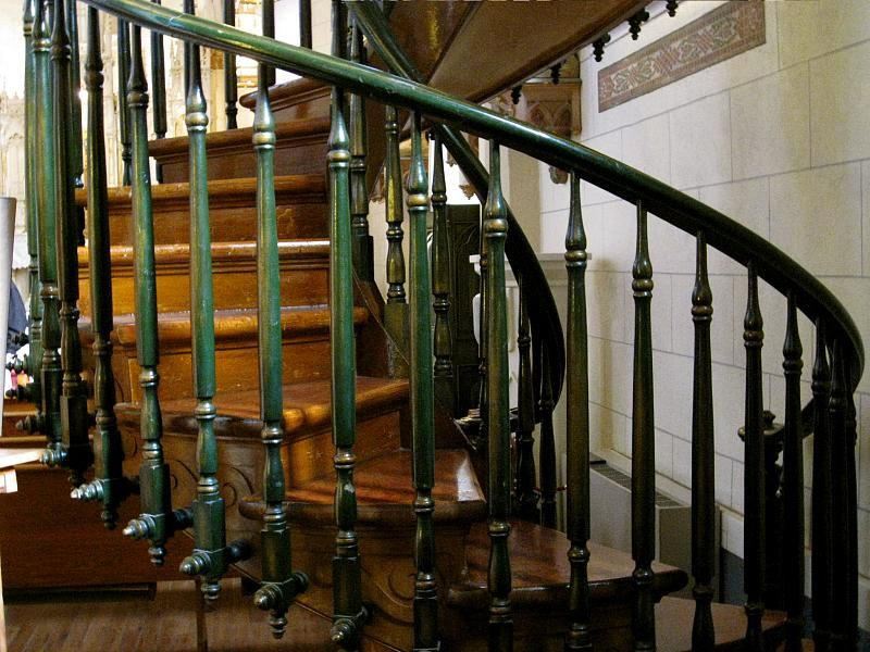 Helical Stair Layout Decorations