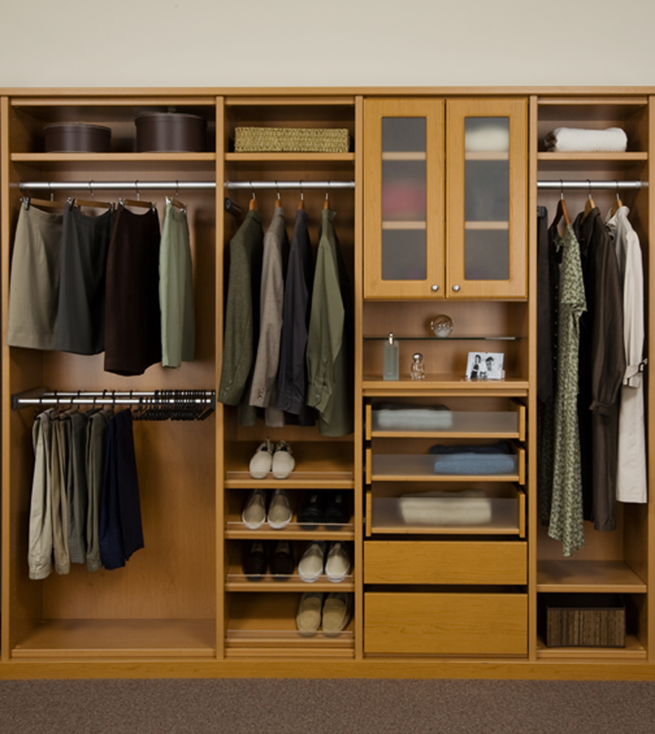 Delightful Closet Organizer Design Ideas Part - 9: IKEA Closet Organizer Ideas (Image 8 Of 10)