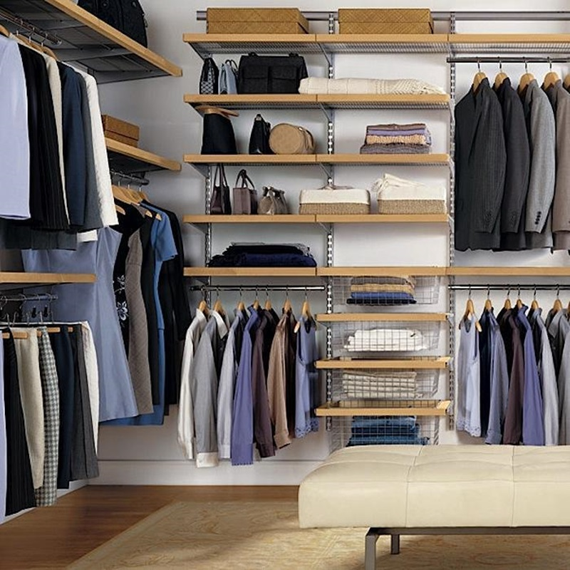 Featured Image of The Installation Of Closet Organizers IKEA