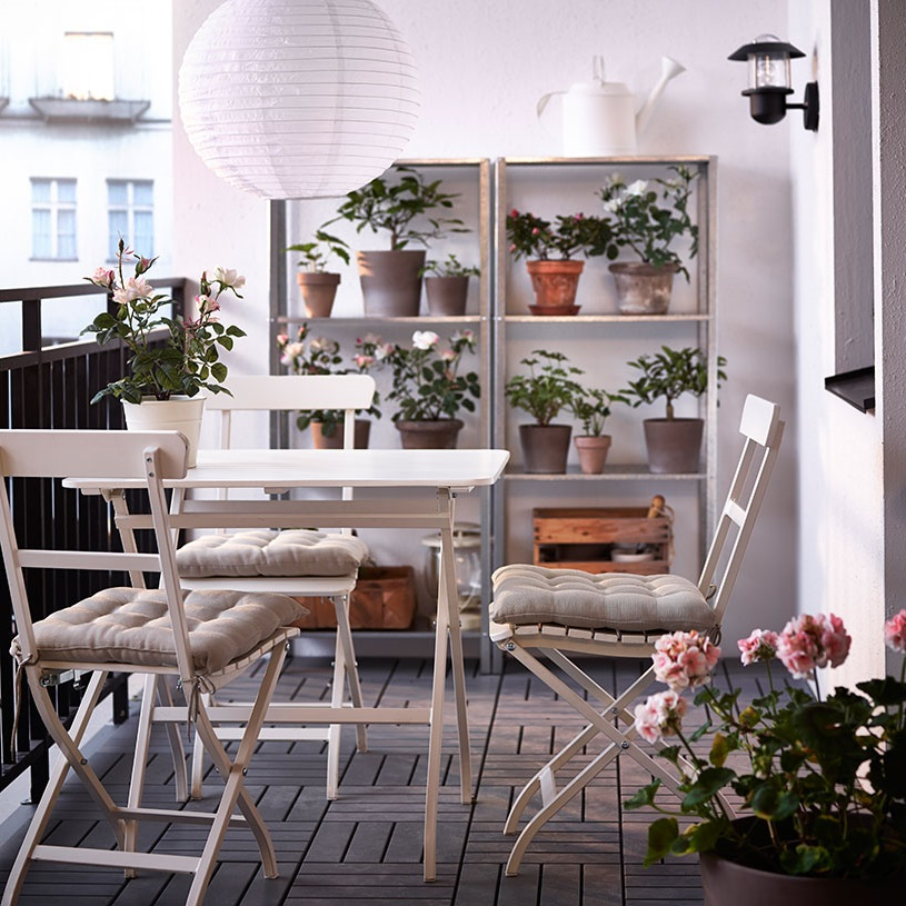 IKEA Patio Furniture For Small Space (Image 9 of 20)