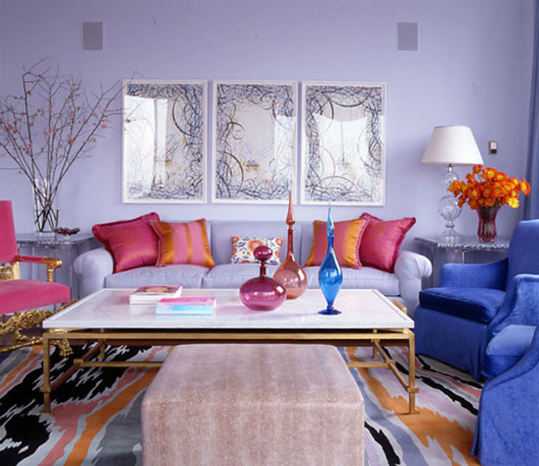 Impressive Pink Sofa Pillows For Living Room (View 4 of 10)
