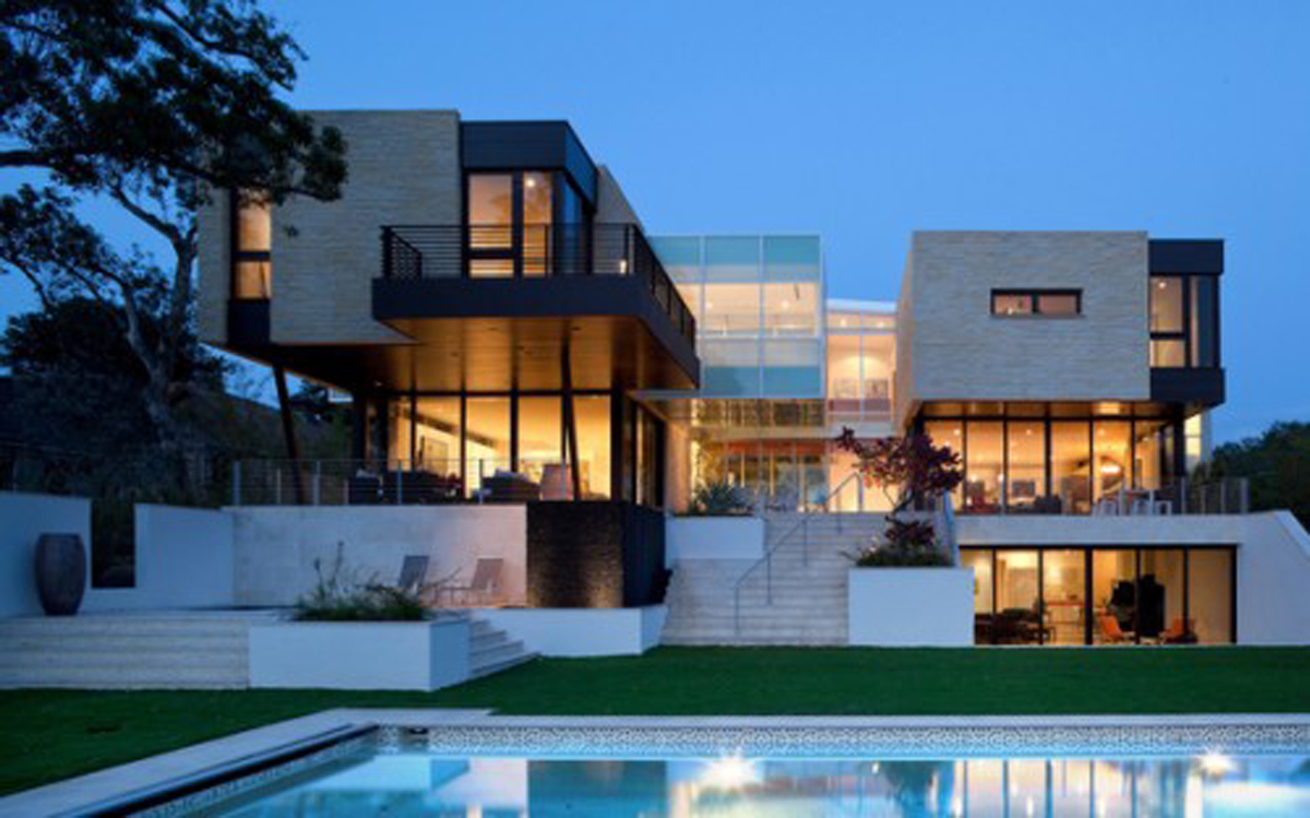 Amazing Modern Architecture Of The Beautiful House Design | Custom ...