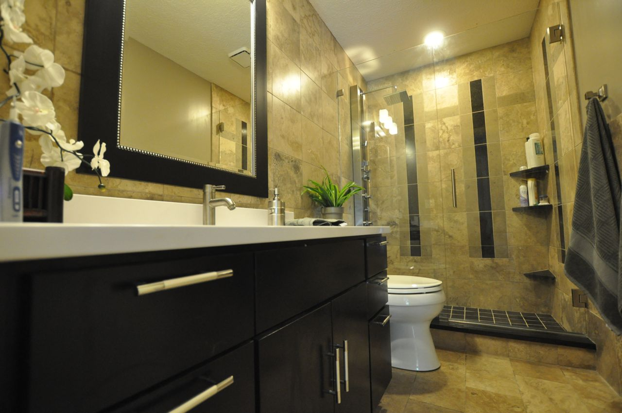 Interactive Ideas For Renovated Small Bathroom Design